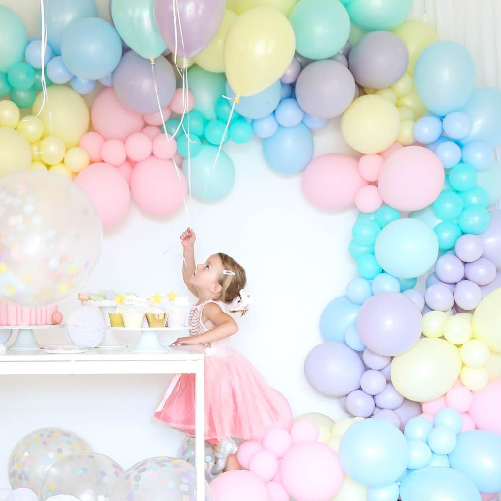 Balloon Garland Kit Diy Pastel Ott Party Supplies Goulburn Nsw