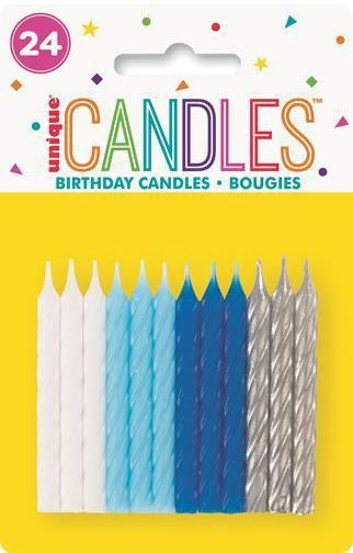 Birthday Candles for Party Supplies Cake Decorating 12pk Birthday Candle Set